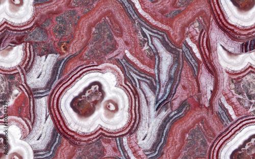 biały i czerwony agat bez szwu struktury