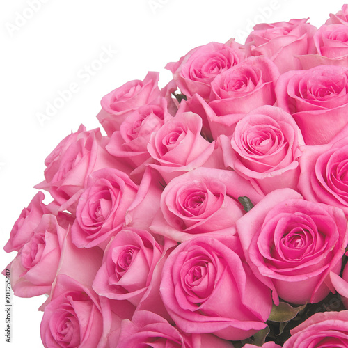 Bouquet of pink roses - 200255602