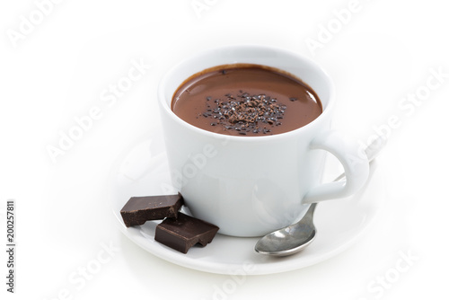 Canvas Chocolade hot chocolate in a cup