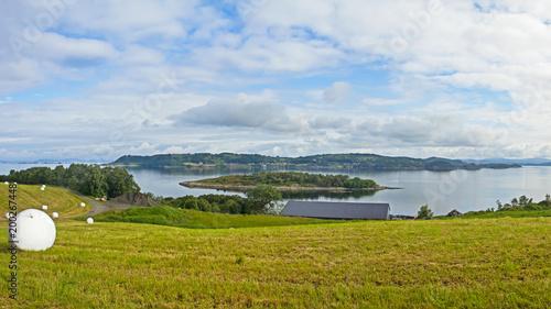 Foto Murales Rural landscape in Norway