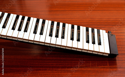 Part of the music keyboard - 200267644