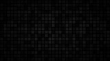 Abstract dark background of small squares or pixels in shades of black and gray colors. - 200270862