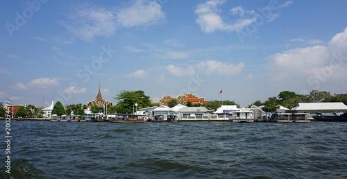 Tuinposter Bangkok chao praya river