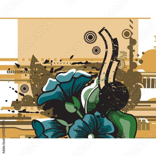 Fotobehang Graffiti Web