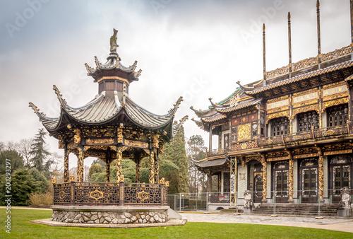 Foto Murales Parc de Laeken à Bruxelles