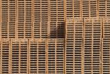 Palette bois transport bois texture matière stockage fabrication - 200302246