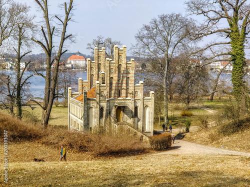Historic building in Park Babelsberg, Potsdam, Germany - 200303047