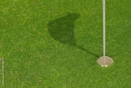 green golf course grass - 200303650