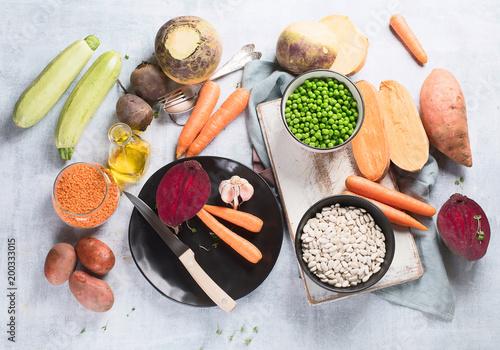 Vegan and vegetarian food. - 200333015