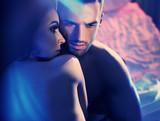 Closeup portrait of a sensual couple - 200337651