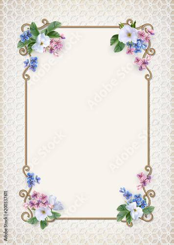 Vintage Decorative Background - 200337611
