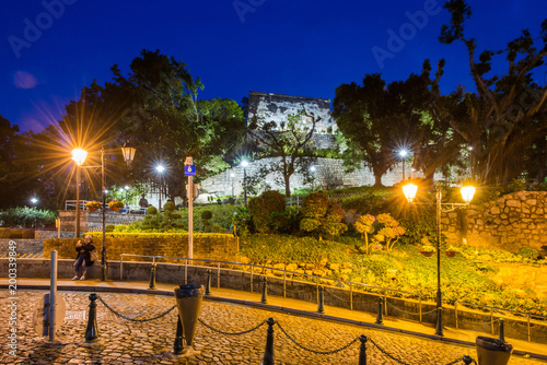 The Fortaleza do Monte Ruins near St. Paul's, this place is the famous attraction travel in Macau