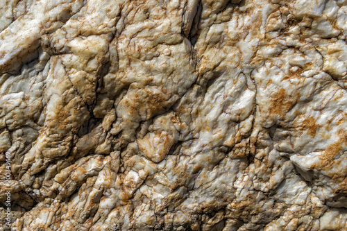 Aluminium Stenen Abstract rock texture background closeup. Old stone. Stone texture. White stone