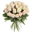 Bouquet of cream roses - 200394050