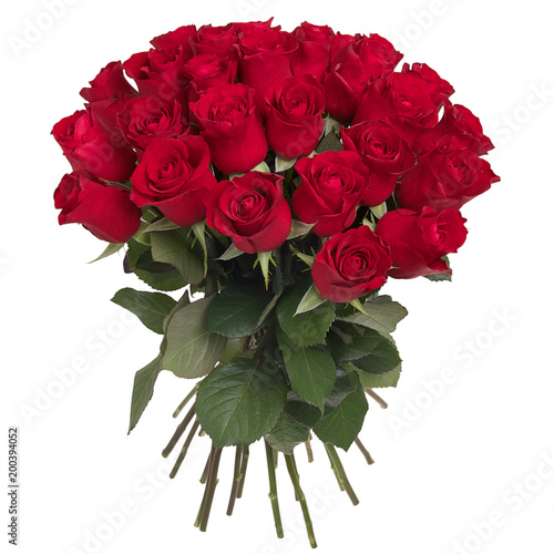 Wall mural Bouquet of red roses