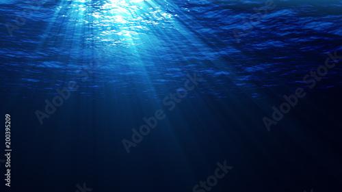 Podwodna scena