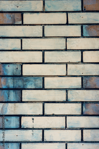 Fotobehang Baksteen muur Brick wall texture
