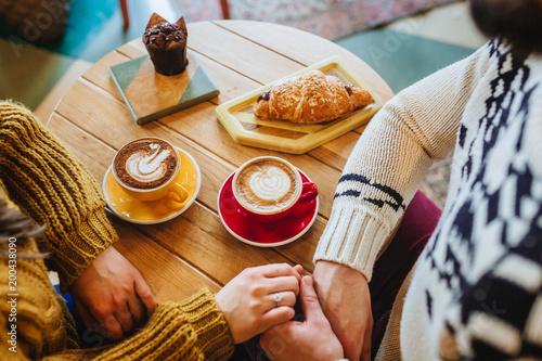 coffee shop love