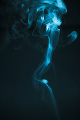 abstract smoke textures of cigarette