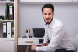 Portrait Of A Young Businessman - 200481456