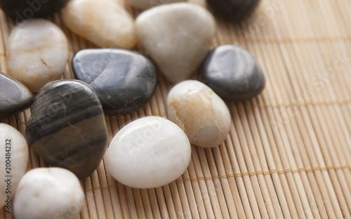 Canvas Zen Stenen galets pierres zen chaude de massage