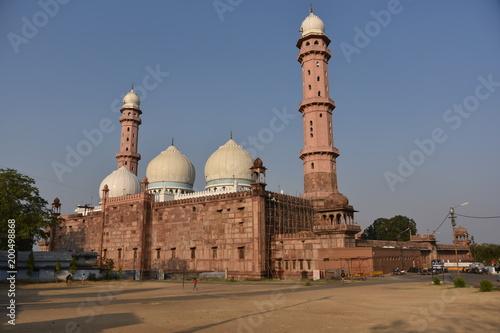 Foto Murales Taj-ul-Masajid, Bhopal,  Madhya Pradesh, India