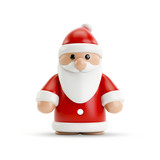 a sweet little Santa Clause figure