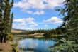 Takhini river, Yukon