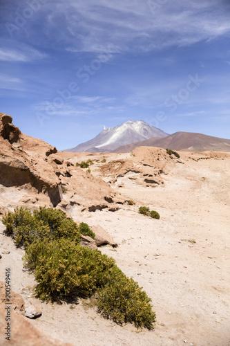 Foto Murales Licancabur volcano in Bolivia