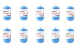 stock-photo-set-different-species-in-plastic-jars-isolated-on-the-white-background