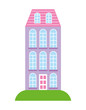high building architecture urban image vector illustration