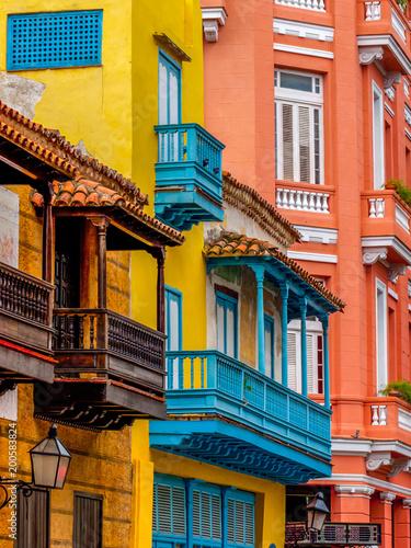 obraz PCV Havana Balconies