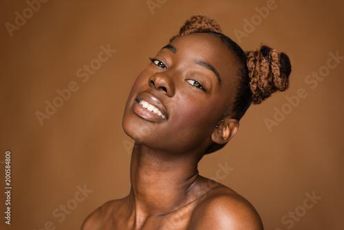 Foto Murales Young African American Woman