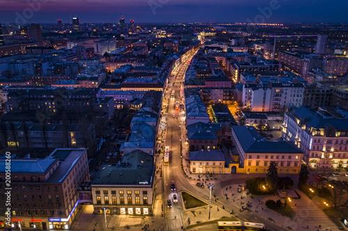Obraz na płótnie Warszawa