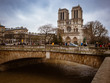 Notre Dame Cathedral is located in the heart of Paris on the largest island of the Seine.