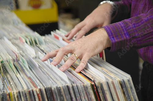 Collectors visit local record shops, looking for rare vinyl - 200593255