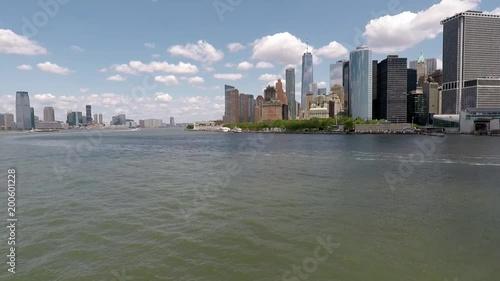 Sailing To Manhattan NYC