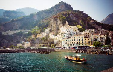 Italy island coastline , street people life style