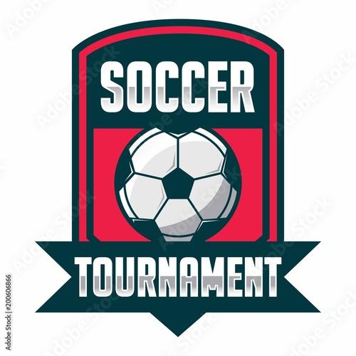 Soccer badge, football logo sport - 200606866