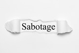 Sabotage - 200620025