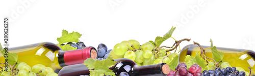 Wall mural Grape wine