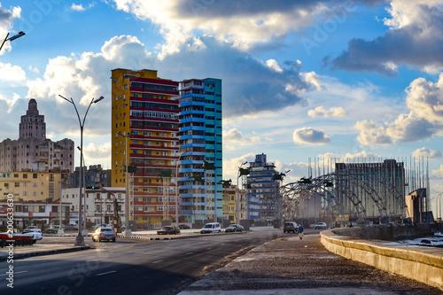Fotobehang Havana Malecon in Havana, Kuba