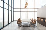 Modern boardroom interior - 200635074