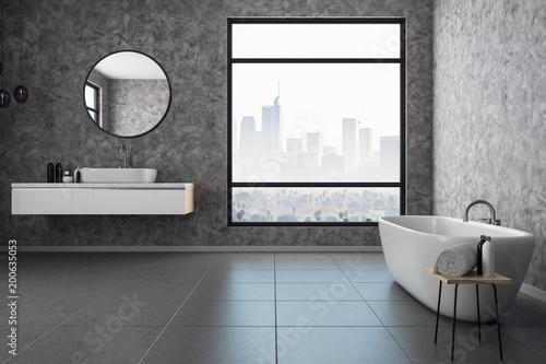 Contemporary bathroom interior - 200635053