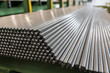 Metal profiles and tubes. Different stainless steel product