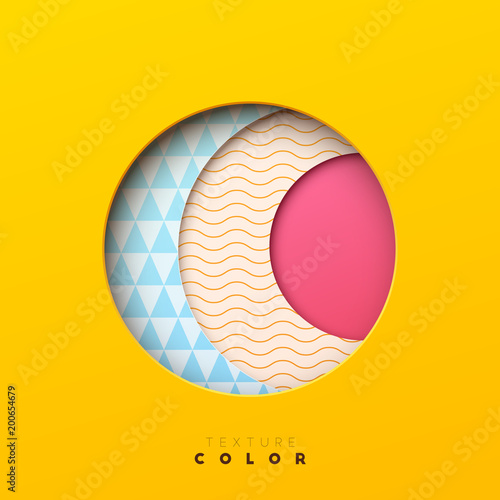 Colorful abstract geometric vector background