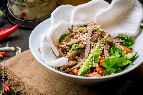 Vietnamese beef salad © bbivirys