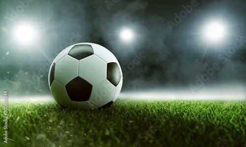 Fußball im Stadion - 200686844