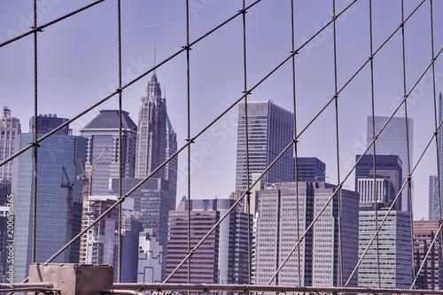 New York City - Brooklyn Bridge.
