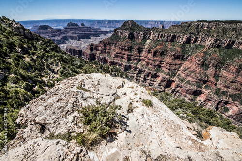 Plexiglas Grijs arizona grand canyon nature